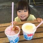 【8月20日・21日】もりやまフルーツランドの感謝セールへはかき氷を食べに行く!