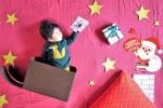 【予約受付中!】まるで絵本のワンシーン!クリスマスごろんフォト♪LINE@会員特典あり!