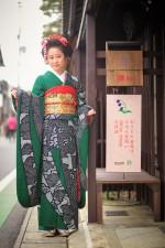 自分で着たいときに着物が着たい!! 近江八幡の素敵町家で着物の着付け、ヘアアレンジレッスン!