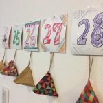 ワクワクしながらお誕生日までの日にちをカウントダウン!!家にある物で子供と一緒に簡単に作れるカウントダウンカレンダー。