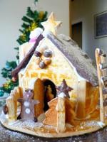 【12月17日(土)締切!】親子でクリスマスに憧れのお菓子の家を作ろう♪