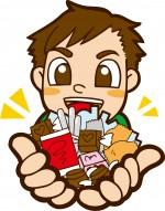 大人気のお菓子が当たる抽選会♪抱えきれないほどのお菓子がもらえるチャンス!
