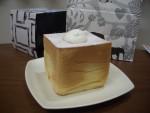 四角いフォルムにキュン!!素材にこだわったシフォンケーキ!期間限定で京都駅で購入可!