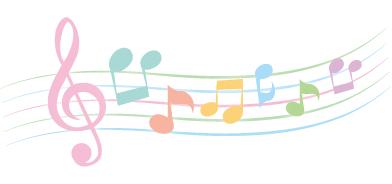 音楽 ♪ 歌 音符