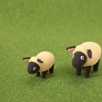 羊 牧場 動物 粘土