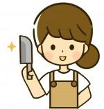 包丁がよく切れると毎日の食事作りが楽しくなるよね!1本200円で包丁研ぎをお願いしてみませんか。