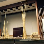 琵琶湖のヨシを使って、大きくってかっこいいものを作ってみよう!南草津駅前広場をアートの力でにぎやかにする楽しいイベントに、親子で参加しませんか