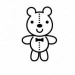 可愛いテディーベアを作りませんか!簡単な作業で作成出来ます!☆受講料1000円(材料費)、要申込