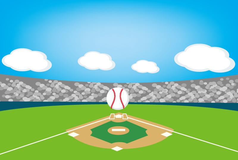 野球 ボール 球場