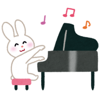 piano_usagi