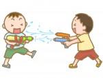 """""""水でっぽうバトル""""がびわ湖こどもの国で開催されるよ!水でっぽうで相手チームの的を撃ち抜いて勝利しよう!"""