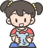 夏休みの工作にいかが!唐橋焼きでカレー皿を作ります!☆受講料1800円、小学3年生以下は保護者同伴