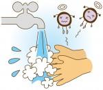 外へのお出かけに便利!水さえあればキレイに手が洗えます!