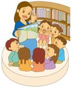 西武大津店にて行われる「朗読ライブ」を親子で楽しもう♪紙芝居やお誕生日のお祝いもあるよ☆参加無料・事前申込不要。