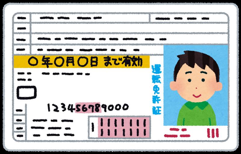 「こども免許証」の画像検索結果