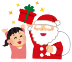12月24日はエイスクエアにサンタクロースがやってくる!サンタさんと一緒に写真撮影しよう!お菓子プレゼントもあり♪