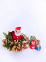 スーパーおじさんの「クリスマス工作教室」が開催!サンタクロースやトナカイを木材で作ります!☆要申込、参加費300円