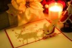 飛び出すクリスマスカードを作ってみよう!彦根市・ふれあいの館