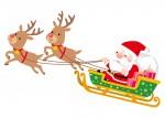 12月23日・24日はピエリ守山にサンタクロースのお家が登場!ふわふわのおうちの中で金貨を探してプレゼントをもらおう♪