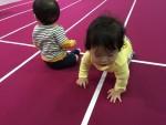 【4月5日】ハイハイのほんのひとときのメモリアルイベントに!エイスクエアにて「赤ちゃんハイハイレース」開催☆