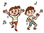 """<小学生以下対象>誰でも楽しめる""""リズムエアロダンス""""は3月25日に無料体験あり。4月からは新たに2つのコースがスタートするよ♪"""