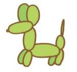 """バルーンで干支の""""犬""""を作ろう♪1月21日は西武大津店育ママセンターでバルーンアート教室が開催!事前申込制♪"""