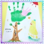 お子さんの『今』を形に残す手形アートをお歌と共に、日々の育児に彩りを♡【3月29日草津開催】
