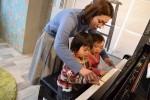 0歳から通える音楽教室!グランドピアノにバイオリン、小さい時から本物の音楽にふれてみませんか?