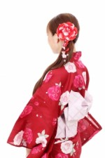 ママのご褒美に!浴衣着付け、生花で髪飾りづくり、プロの写真撮影会がセットであります!☆要申込