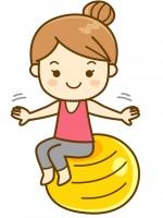 〈6月10日 草津市〉ママも元気になろう!大人気のバランスボールエクササイズが無料で開催されます♪お子さま同伴OK!
