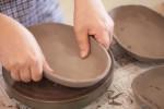 家族でカレー皿を作ろう!唐橋焼の素敵なお皿です!☆小さい子は親子で参加OK、要申込(7月10~)