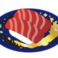 回転寿司 まぐろ すし 食べ物