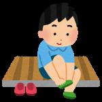 西武大津店にて、「こども靴下取りサービス」が行われています!こども服売り場で使える割引券をもらえますよ♪