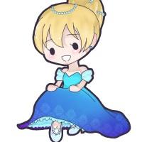素材 シンデレラ プリンセス