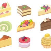 素材 ケーキ