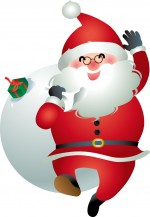 【12月24日】イオンモール草津にサンタクロースがやってくる!どこに登場するかはお楽しみ☆お菓子がもらえるよ♪