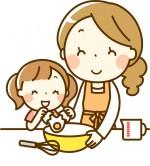 参加費200円♪親子で『りんごケーキ』を作って味わおう♪【12月18日】家族もぐもぐくっきんぐ講座★ゆめっこ
