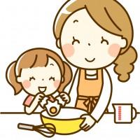 素材 お菓子作り 親子 お手伝い
