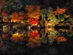 万華鏡のように光り輝く紅葉のライトアップを楽しもう!あのゆるキャラが登場するかも!