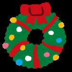 12月15日手芸やさんで小学生向けのクリスマス飾りのホワイトリース作りが開催されます!!