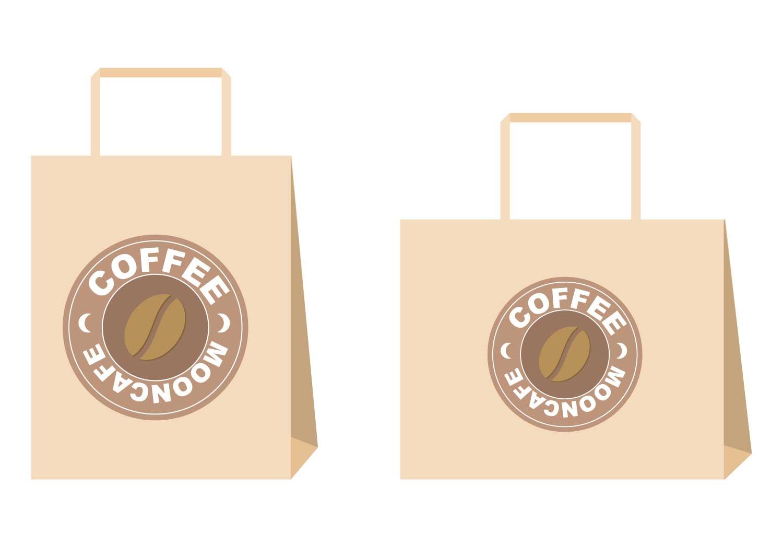 素材 スタバ スターバックス コーヒー 紙袋