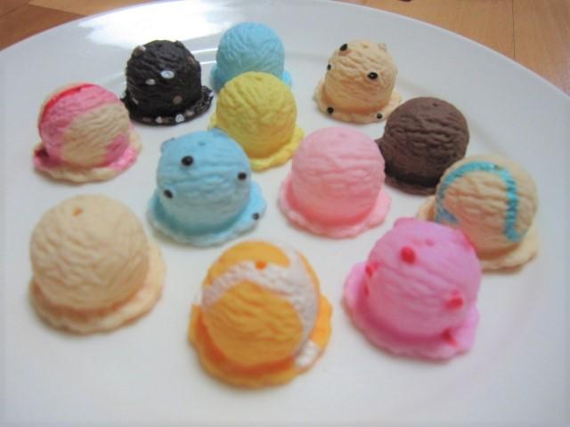 素材 アイスクリーム 玩具