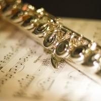 素材 フルート 楽譜