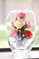綺麗なお花を「プリザーブドフラワー」にして雛祭りに飾ろう!☆1月24日・大津市・要申込