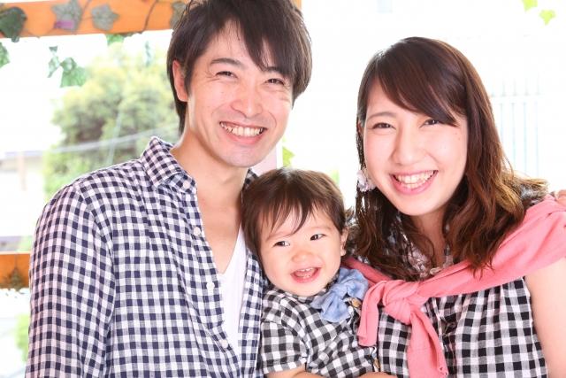 素材 家族写真 親子写真