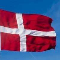 素材 デンマーク 国旗