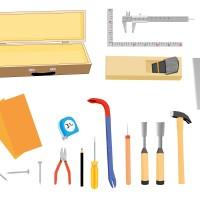 素材 大工道具