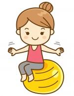 子育て応援企画!子連れでも運動を楽しもう♪【3月13日・27日】ママのためのバランスボール★エイスクエア草津