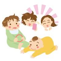 素材 赤ちゃん 撮影