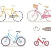 素材 自転車